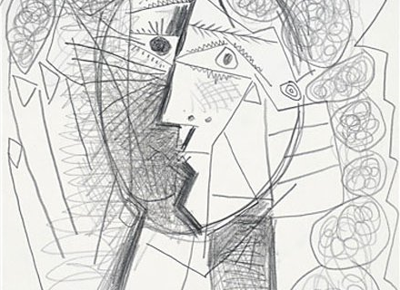 Picasso liked to doodle while he was on the phone