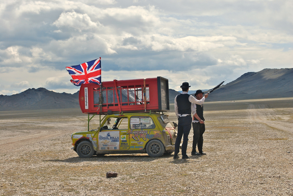 2014 Mongol Rally Begins   The chaos is underway   Follow the adventure