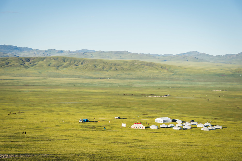 Start camp of the 2014 Mongol Derby