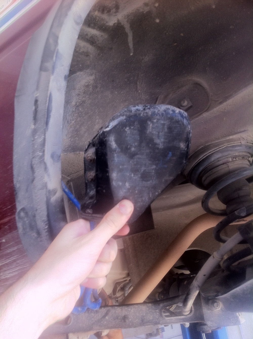The mechanic doesn't know so wants to remove it