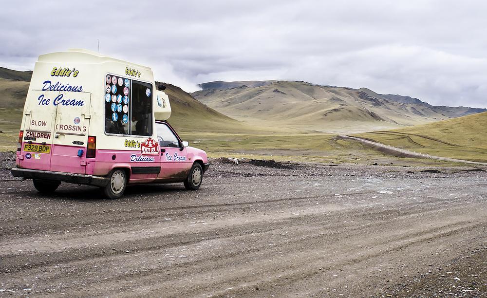 Eddie's Delicious Ice Cream - 1989 Renault 5