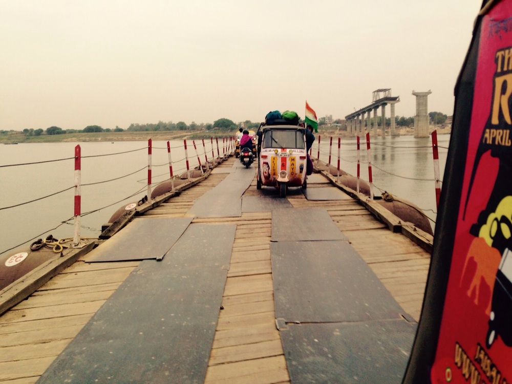 Crossing the Ganges
