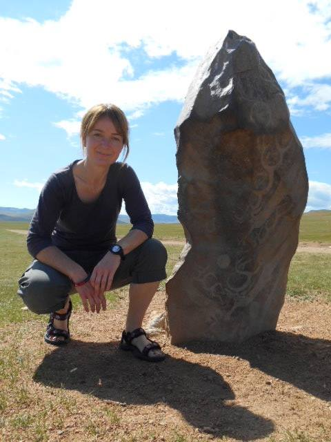 Deborah Swann, one of the smashing Prometheus Medical team tasked with duct taping you back together when bits fall off on the steppe this August.  She's strong enough to keep you safe, and soft enough to wipe away the tears