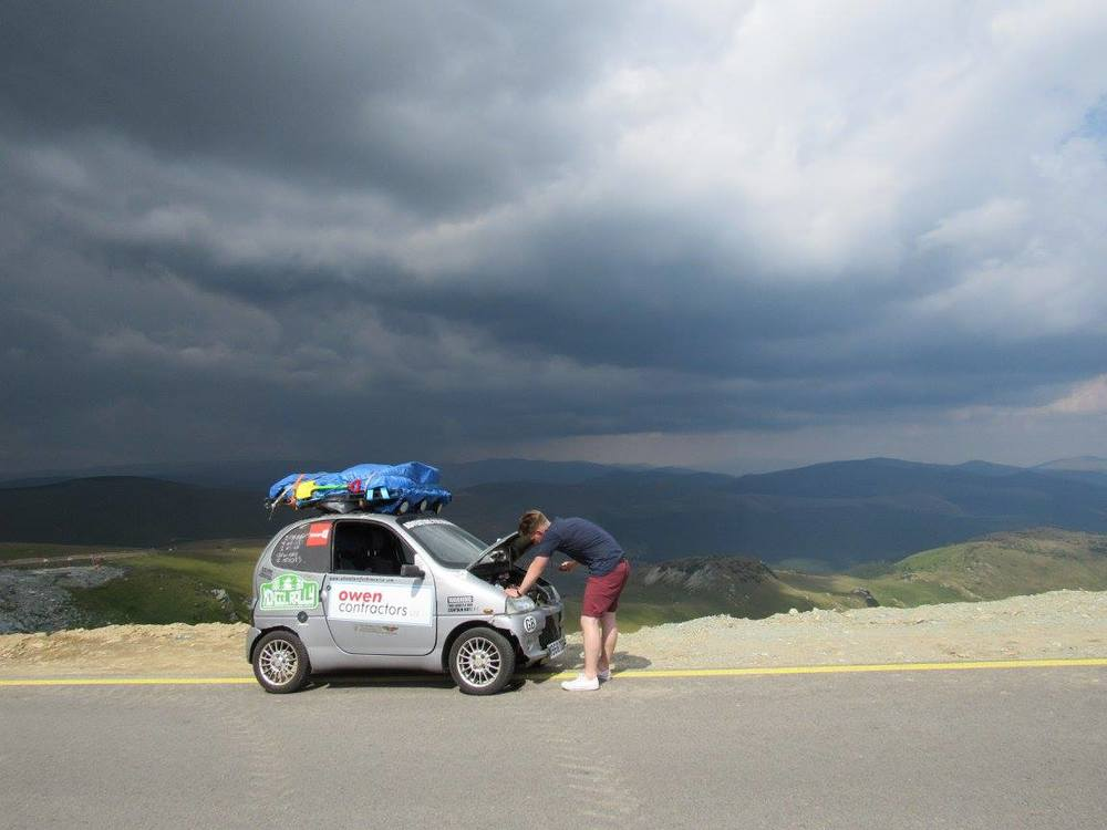 Adventure for Dementia and their leaky vehicle