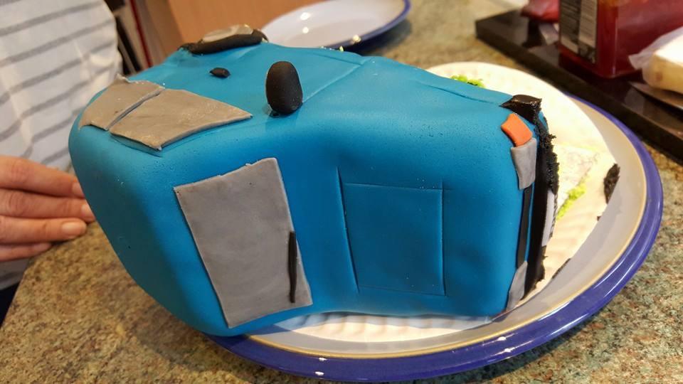 Cake reenactment