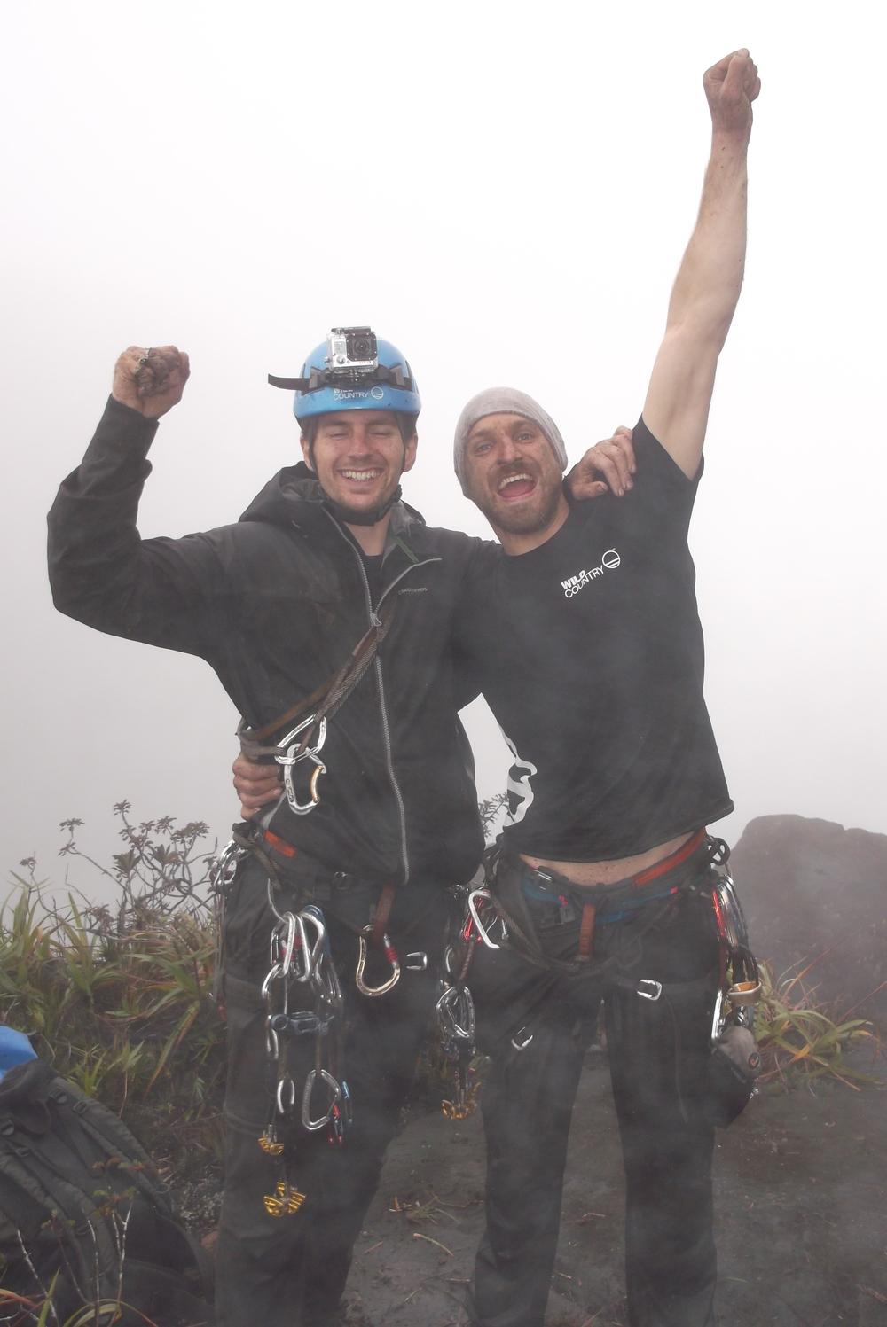 Dan on Venezuela mountain 3.jpg