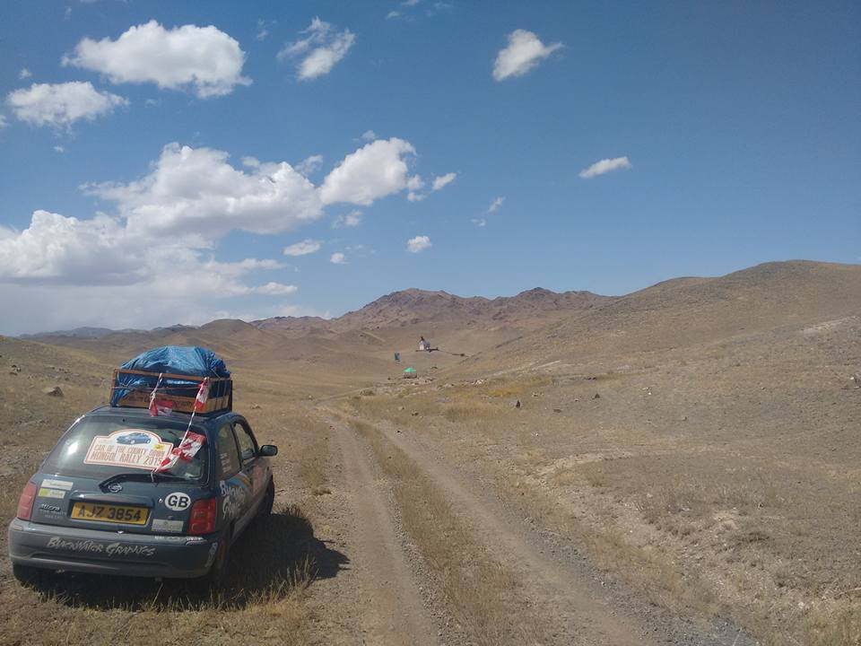 Car of the County Down in Kazakhstan
