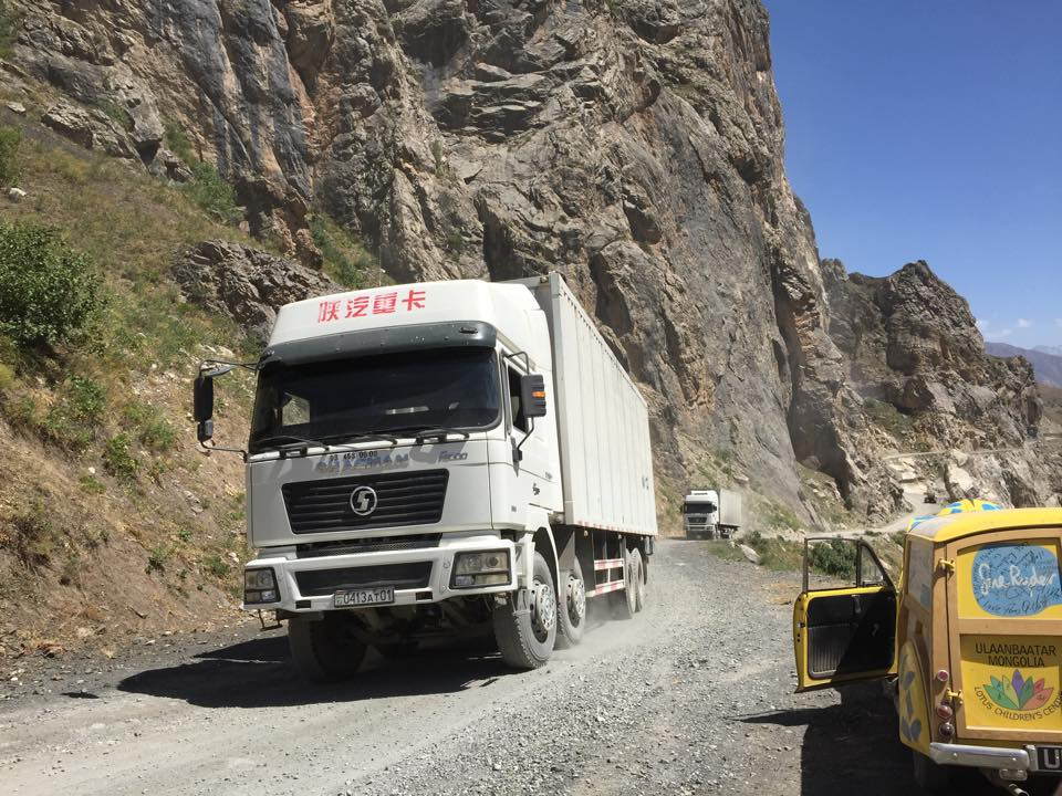 Team YSB on the Pamir Highway