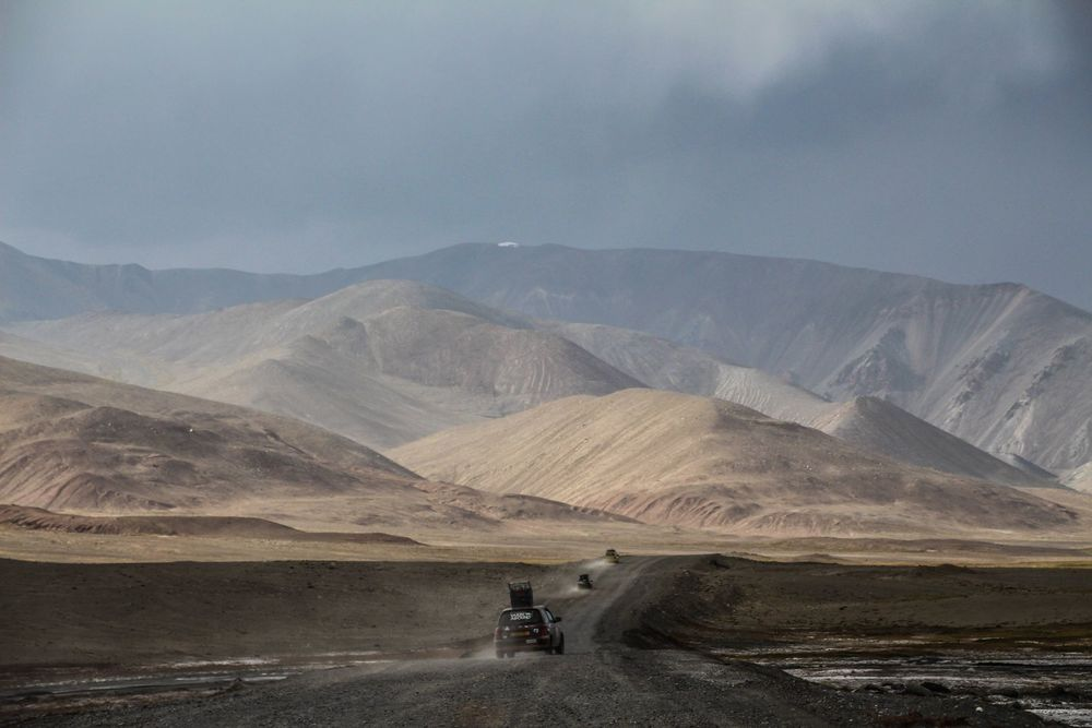 Team Gobiyond. The Pamir Highway.