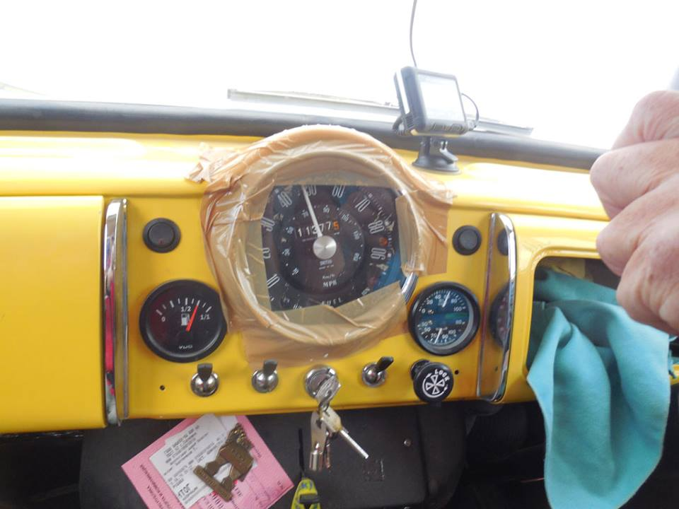 albert's speedometer taped in.jpg