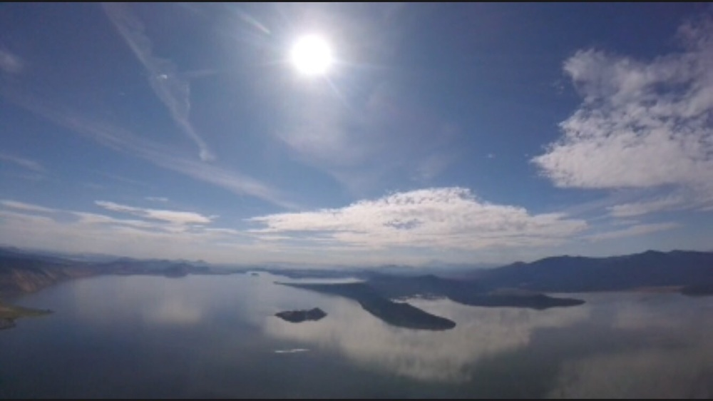 Lake Klamath from the air - James Borges
