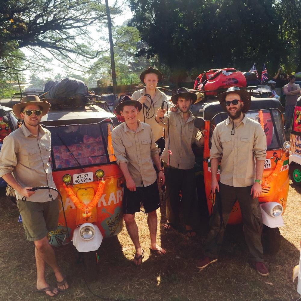 Team Goa kart
