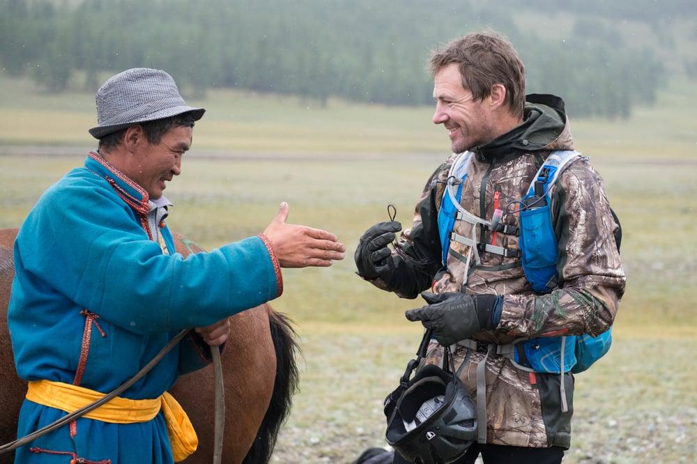 Bond of horsemanship - universal language between Mongolians and international riders