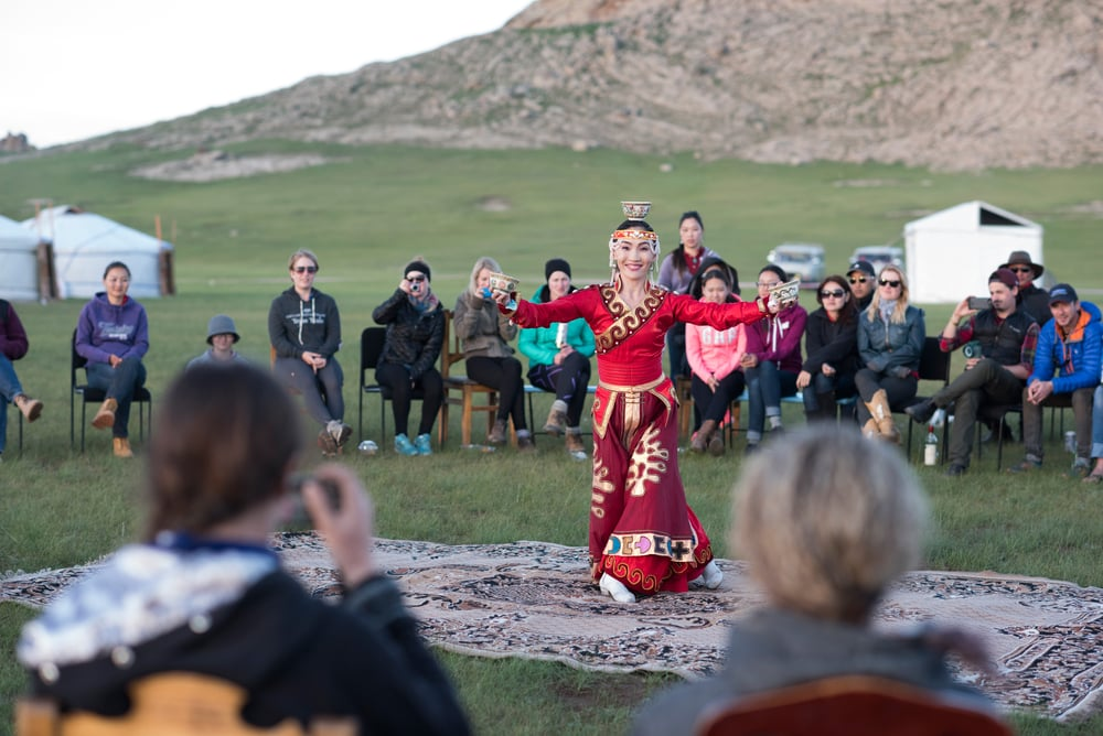 The beauty of the Mongolian traditions