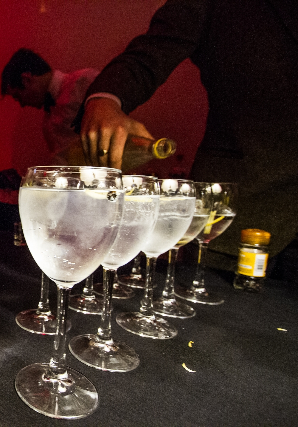 There's nothing like a gin & tonic reception to get a party started