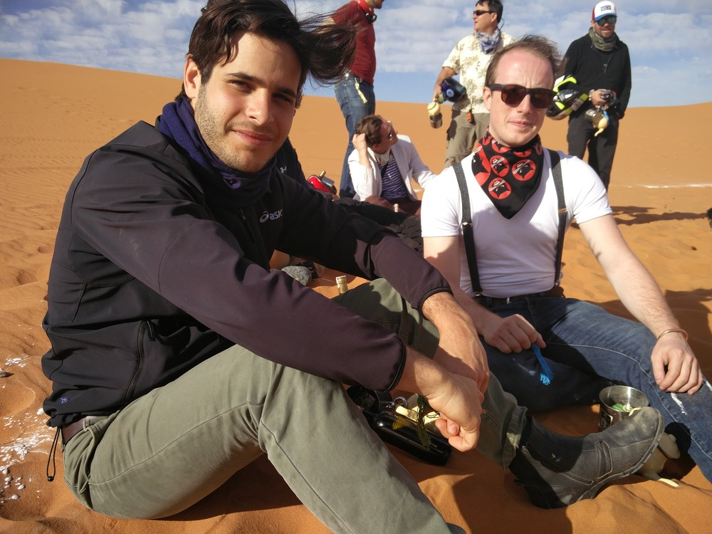 Ngalawa Cup vets, Alberto and Alvaro