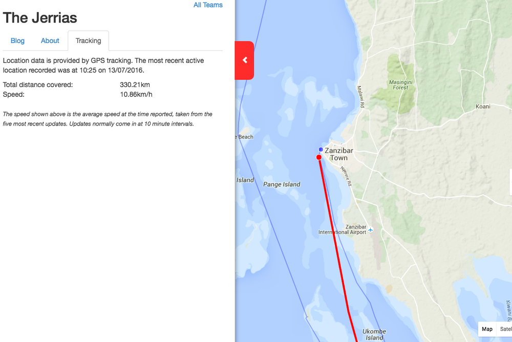 Follow the teams on what looks set to be the last day of the race using our live tracker.