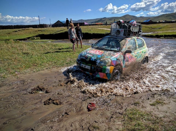 No mud, no fun