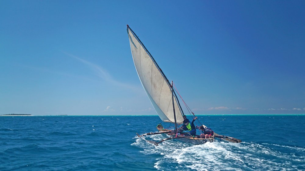 The Kraken Cup   Race traditional Ngalawas - Tanzanian fishing boats - down the Zanzibar archipelago.    find out more