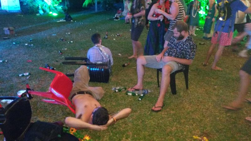 The devastation of the After-Party