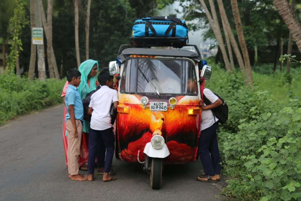 "Team Order of the Phoenix – ""Independence Day rocks. We're getting handed ladoo from moving vehicles!"""