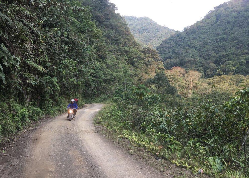 Big hills, little bikes