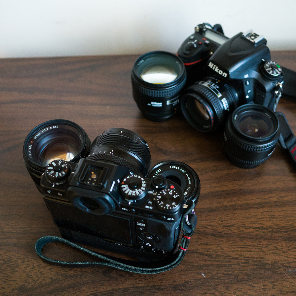 Mirrorless size and weight advantage? not so much no