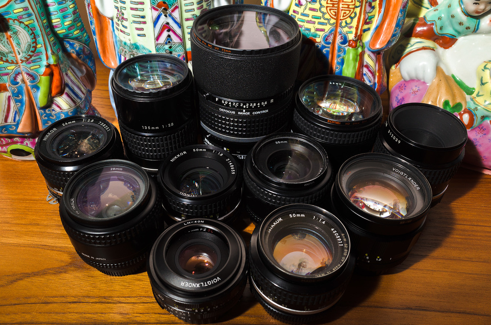 The right prime lenses