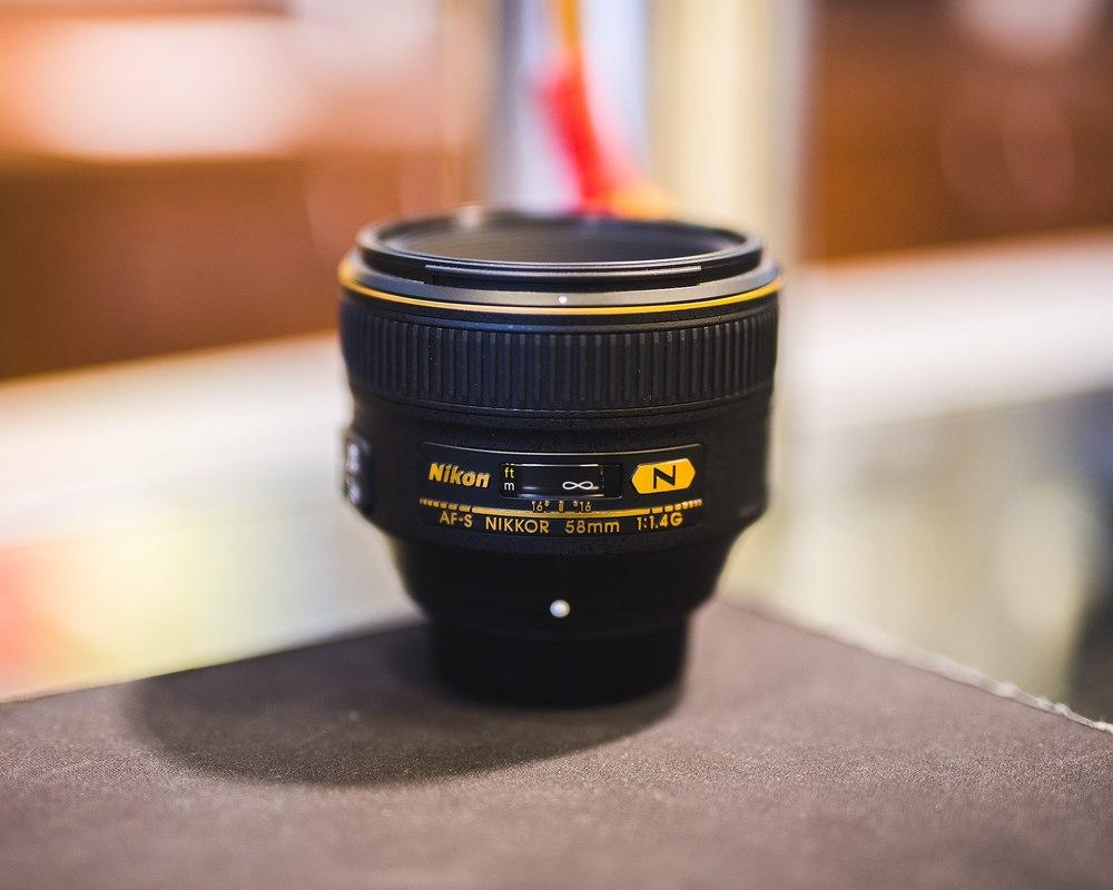 An unidimensional lens