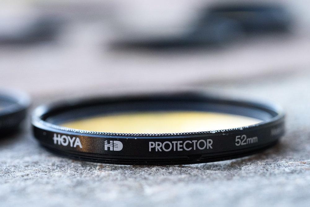 Real Hoya HD. Glossy finish,chamfered edge.