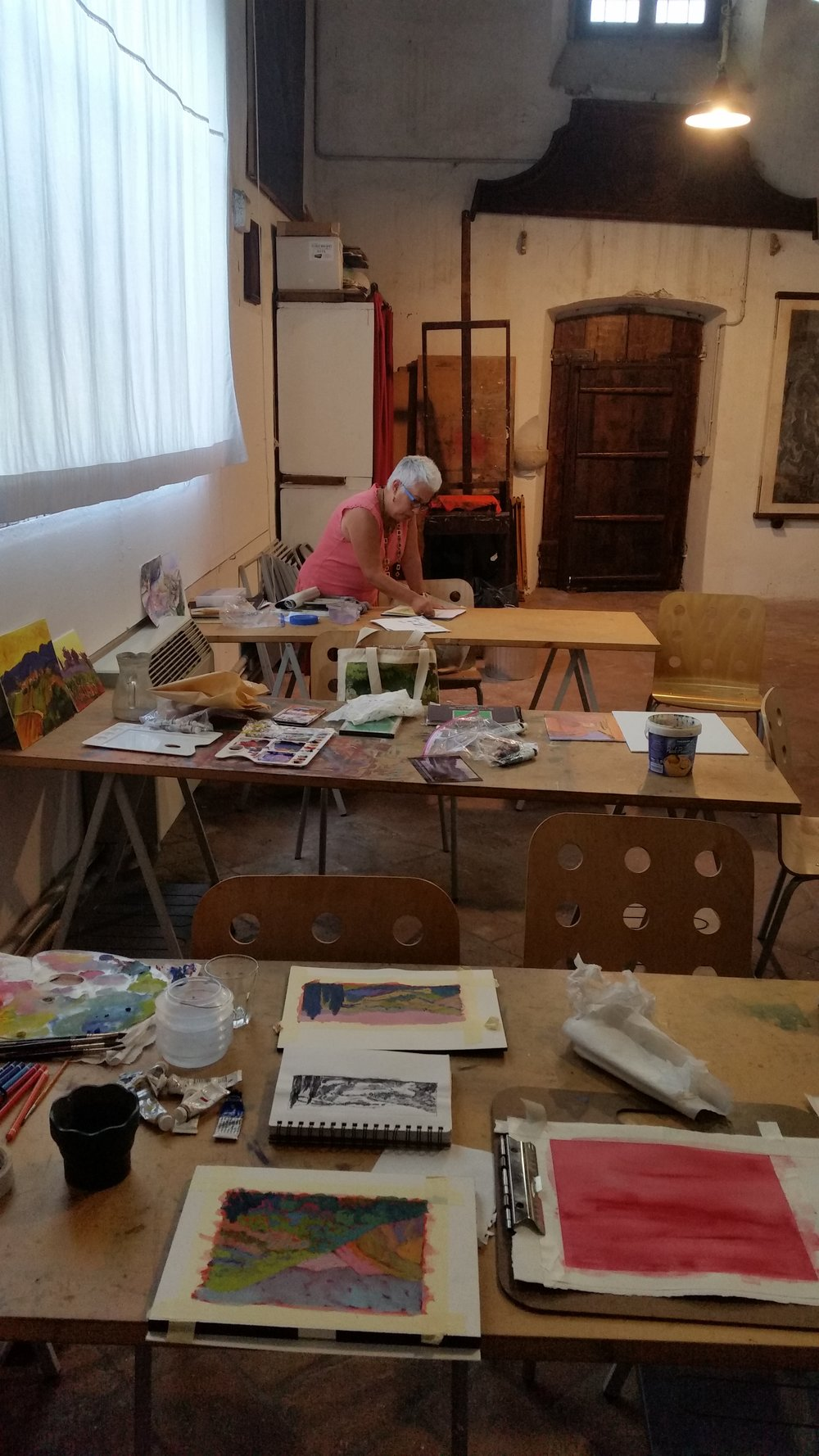Italian Landscape Workshop at La Romita Art School