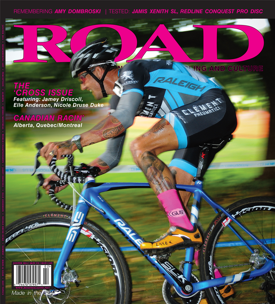 Ben graces the cover of the Jan/Feb Road Magazine with his sweet kicks!