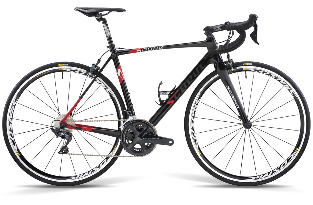 ANOUK   / $1,799 / 950 GRAMS / GRANFONDO SPECIALIST WITH AGILE GEOMETRY & SMOOTH RIDE / MONOCOQUE UD CARBON