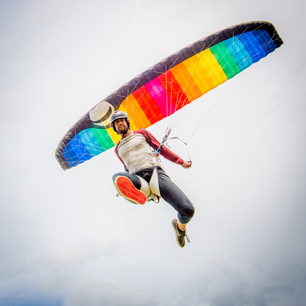 GradientFreestyle2 20mCustom Rainbow - 25-30 hoursGreat condition.Never wet, no SIV.EN-926-119.37m Flat/16.99m Projected60-110kgGradient's new Freestyle2 is your wing for everything paragliding is today. It doesn't matter whether you're launching into a strong wind, if you're working on acro manoeuvres and transitions, or if you just love dropping its sharp-shaped winglet into the centre of a cracking thermal. With the Freestyle2 you'll find your personal playground in the air, anywhere on the planet. It might just change your life as you jack in that fulltime job and head off to find the best place to perfect your skills, training as often as you can. The Freestyle2 hones your intuition into the perfect line in the sky, the perfect climb and the perfect, stylish acro run. At the same time the Freestyle2 will keep you busy. With its sensitive feedback it will clearly show off your skill level, while offering you room to perfect those skills. Training with the Freestyle2 will help take your flying to the next level -- and will help you move on up to a dedicated Acro wing.Retail: $3,800Sale: $1,950