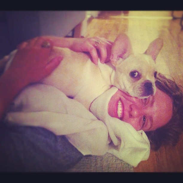 If Lucy played basketball, she'd go full cuddle press with  @samanthallsilver / on Instagram  http://instagr.am/p/KgopsFvDFV/