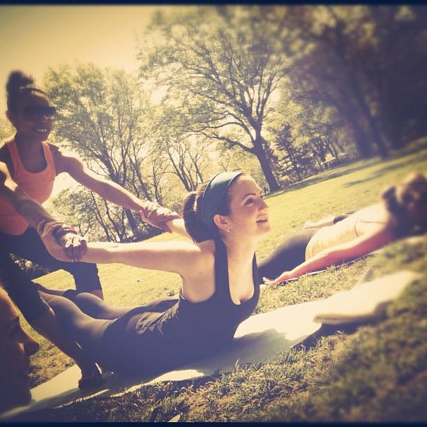 Girl on girl action at ER's #bachelorette / on Instagram  http://instagr.am/p/JsJnvrPDJr/