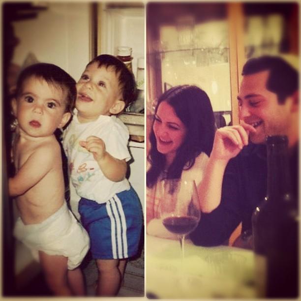 And they still take baths together @emmarosen / on Instagram  http://instagr.am/p/JJSILfPDJG/