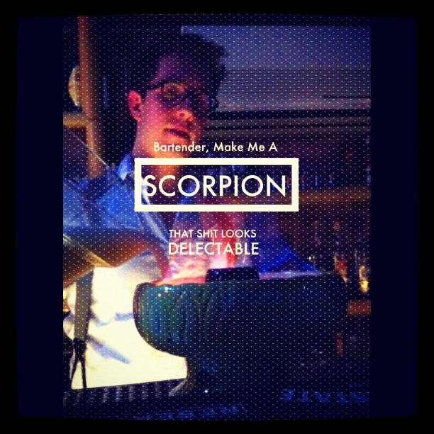 tiki bar last night ftw / on Instagram  http://instagr.am/p/nm42V/
