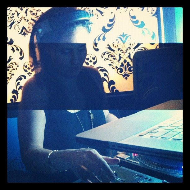 DJ. Birthday. Lady. Sha. / on Instagram  http://instagr.am/p/WIkA7/