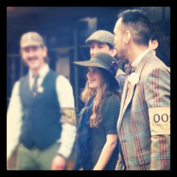 Tweed Run / on Instagram  http://instagr.am/p/QQ00n/