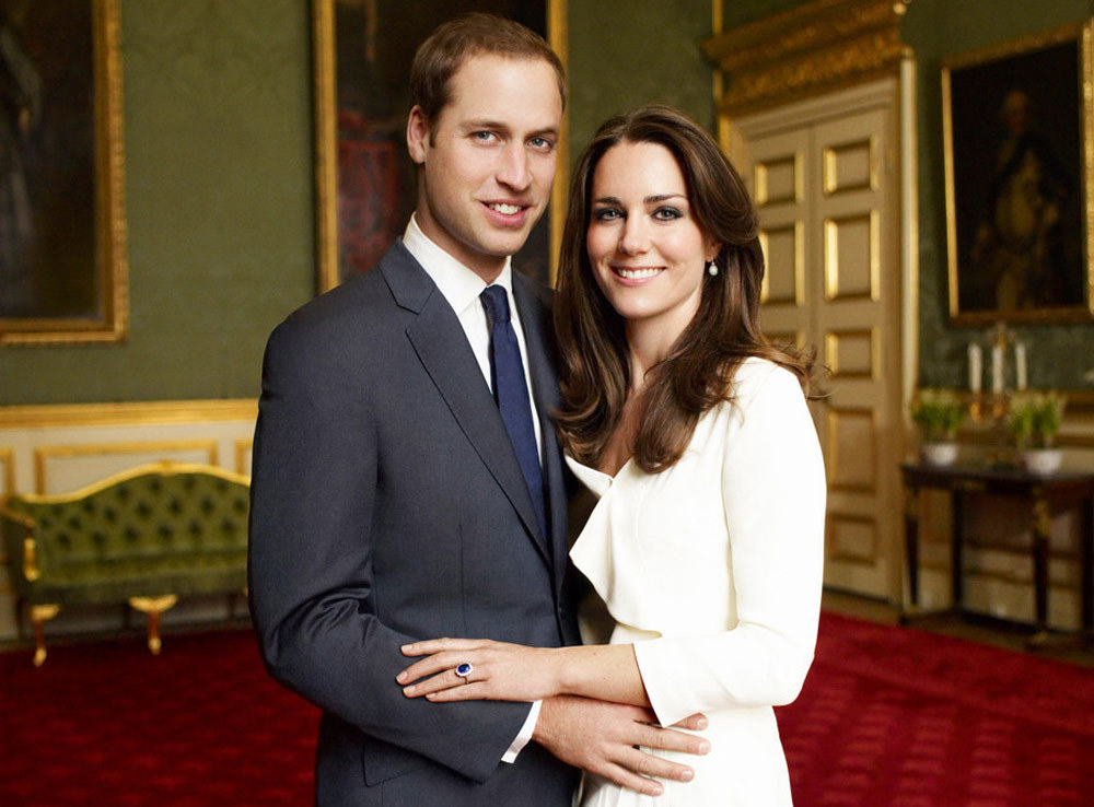 TRH The Duke and Duchess of Cambridge / Supplied (p)