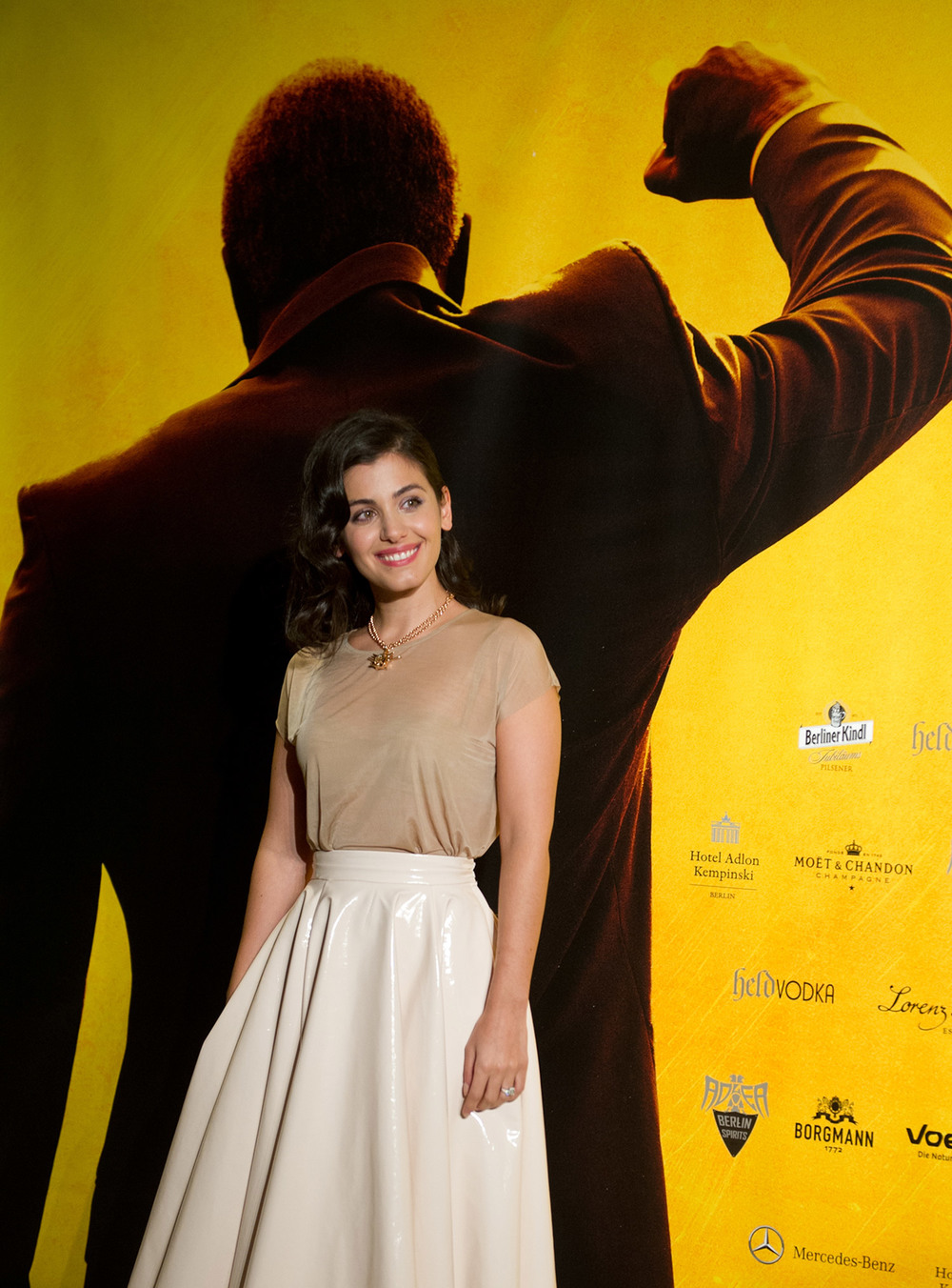 Katie Melua on the red carpet / Videovision Entertainment (p)