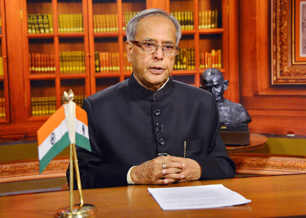 President of India, Shri Pranab Mukherjee / Government of India (p)