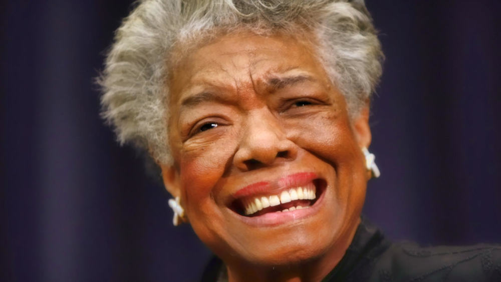 Maya Angelou / AP Photo/Gerald Herbert, File (p)