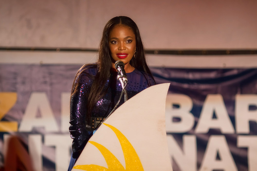 Terry Pheto - Zanzibar International Film Festival / Peter Bennett (p)
