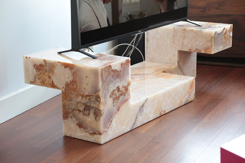 Furniture Onyx Stand