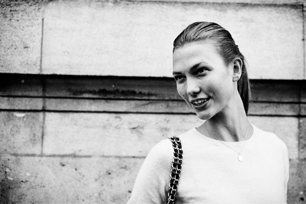 Karlie Kloss in Paris