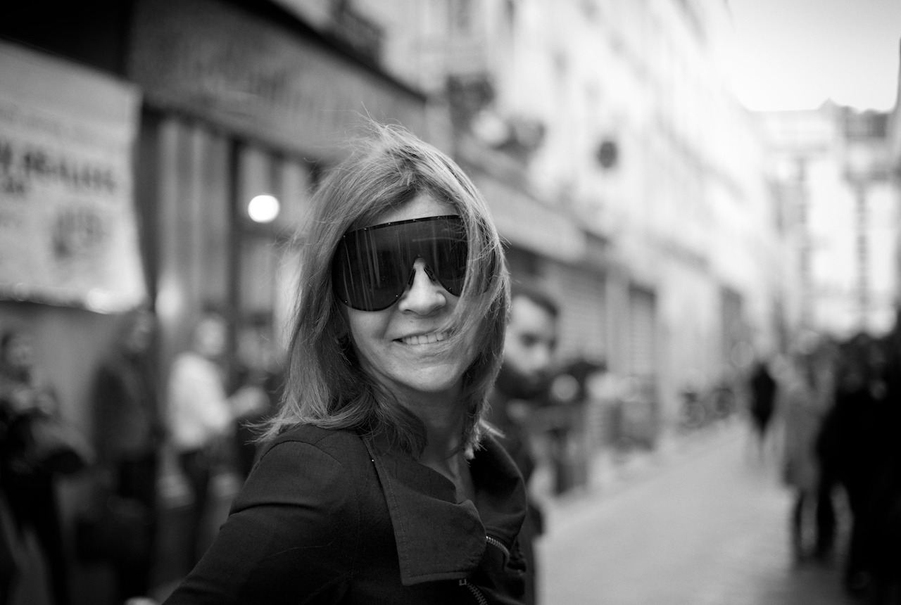 The ultimate smokey eye—Carine on Rue de Lappe, Paris, 25 September 2012.