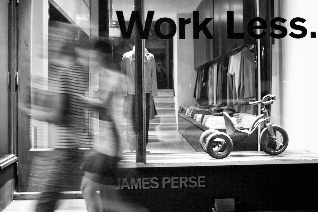 James Perse on Bleecker
