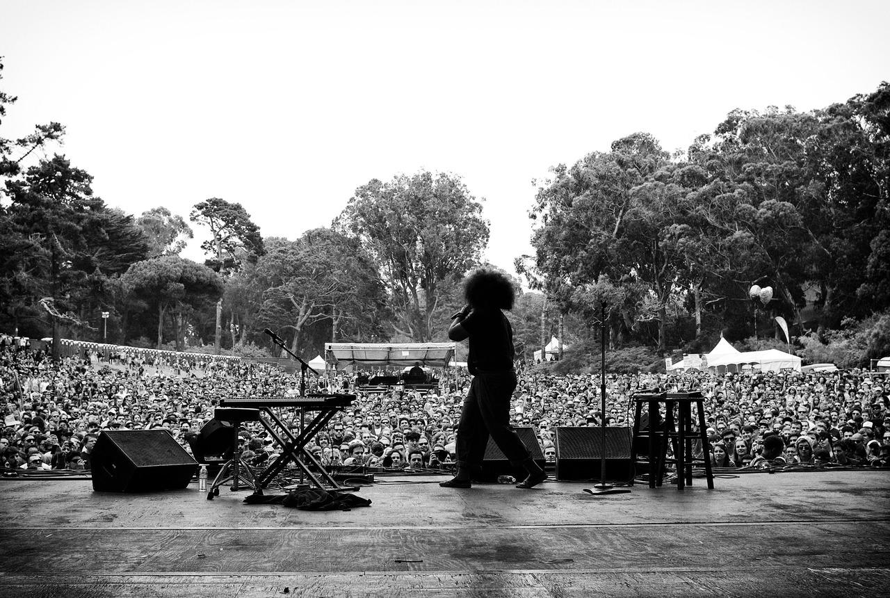 Reggie Watts @ Outside Lands